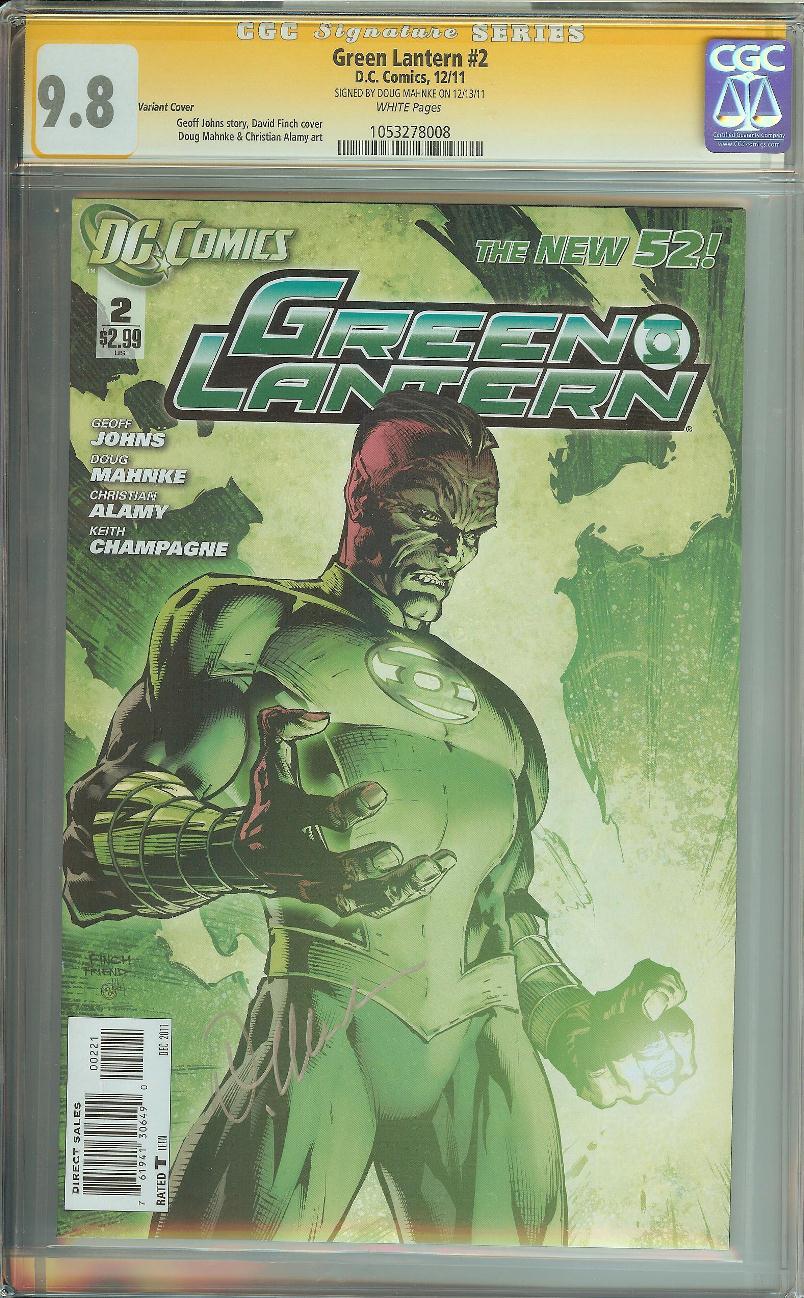 GREEN LANTERN #23.2 MONGUL #1 3D LENTICULAR COVER NM 2013 NEW 52 1st PRINT